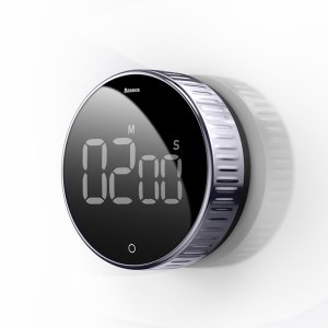 The Baseus Heyo Rotation adds convenience to your working lifestyle, with a large clear LED display you can time your activities and tasks so that you stay organised and stick to your daily schedule efficiently.