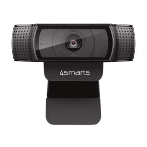 This 4smarts 720p Webcam is the perfect accessory to enhance your Zoom & Skype calls when working from home or calling family & friends. Featuring a built-in stereo microphone and 720p at 30 frames per second video to always keep you looking your best.