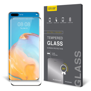 This ultra-thin tempered glass screen protector for the Huawei P40 Pro from Olixar offers toughness, high visibility and sensitivity all in one package.