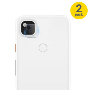 Olixar Google Pixel 4a Tempered Glass Camera Protectors - Twin Pack