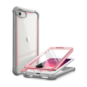 Shield your iPhone SE 2020 from drops, scratches, scrapes and other damage with the Ares case from i-Blason in Pink. This case offers superb military grade all round protection while adding virtually no extra bulk to your device.