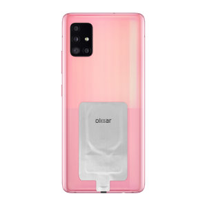 Add wireless charging to your Samsung Galaxy A51 5G device without replacing your back cover or case with this Olixar Ultra Thin Qi Wireless Charging Adapter!