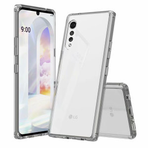 Custom moulded for the LG Velvet. This clear Olixar ExoShield tough case provides a slim fitting stylish design and reinforced corner shock protection against damage, keeping your device looking great at all times