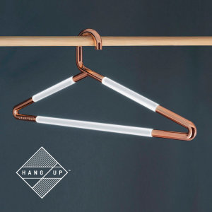 No more excuses for getting dressed in the dark. The Hang up is a stylish ambient light that can be conveniently hung anywhere, whether it's on the door as a night light or in the wardrobe to shine some light on a fashion faux pas. Lasts up to 20 hours.