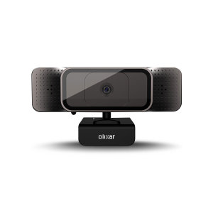 Olixar HD 720p Universal USB Webcam With Microphone - Black