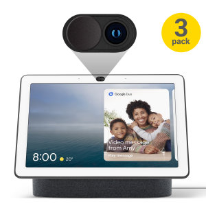 Olixar Anti-Hack Webcam Cover for Google Nest Hub Max - 3 Pack