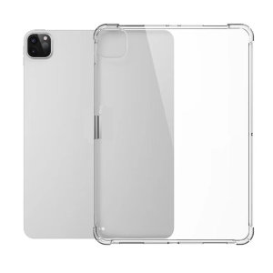 "Ultra-Thin iPad Pro 12.9"" 2020 TPU Anti-Shock Gel Case - Crystal Clear"