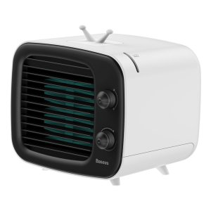 The Baseus Time Air Conditioner Fan strikes cool air instantly, quietly and efficiently allowing you to relax in the perfect environment with the right temperature. Not only this, it moisturizes the atmosphere with spray humidification.