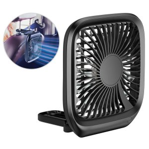 The Baseus Backseat Car Fan is a great way to keep your passengers cool and happy especially your kids! Simply mount on your headrest and experience instant cooling. It can also be placed on desks to be used as a fan during hot working hours.