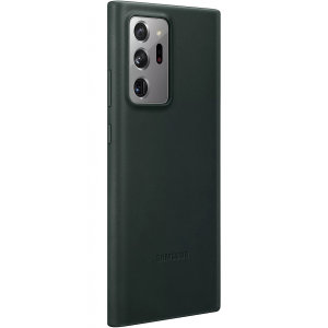 Official Samsung Galaxy Note 20 Ultra Leather Cover Case - Green