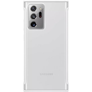 This Official Samsung Protective cover in Clear White is the perfect accessory for your Samsung Galaxy Note 20 Ultra smartphone. Compatible with 4G and 5G variants.