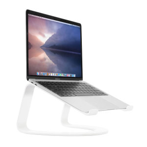 The Twelve South Curve Stnad partners design with practicality. The stand holds laptops and MacBooks conveniently and in style making it perfect for youe workspace. With its beautiful matte finish and improved ergonomic design it is the perfect stand.