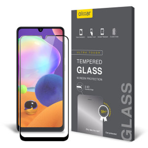 This ultra-thin tempered glass screen protector for the Samsung Galaxy A31 from Olixar offers toughness, high visibility and sensitivity all in one package.