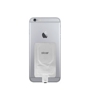 Enable wireless charging for your iPhone 6 Plus without replacing your back cover or case with this Qi Wireless Charging Adapter from Olixar. Simply plug into your iPhone and instantly charge wirelessly.