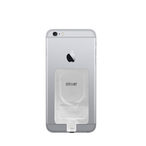 Enable wireless charging for your iPhone 6 without replacing your back cover or case with this Qi Wireless Charging Adapter from Olixar. Simply plug into your iPhone and instantly charge wirelessly.