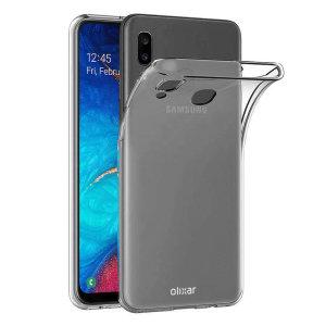 Olixar FlexiShield Samsung Galaxy A30 Gel Case - Clear