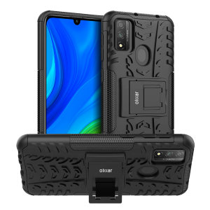 Protect your Huawei P Smart 2020 from bumps and scrapes with this black ArmourDillo case. Comprised of an inner TPU case and an outer impact-resistant exoskeleton, the Armourdillo offers sturdy and robust protection, but also a sleek modern styling.