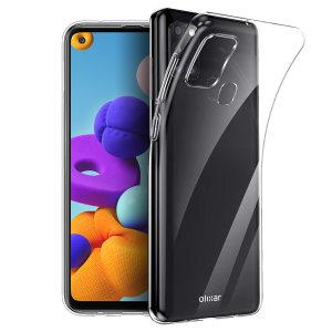 Olixar Ultra-Thin Samsung Galaxy A21s Case - 100% Clear