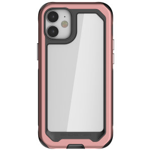 Equip your new iPhone 12 mini with the most extreme and durable protection around! The Pink Ghostek Atomic Slim 3 provides rugged drop and scratch protection whilst keeping the phone slim and stylish.