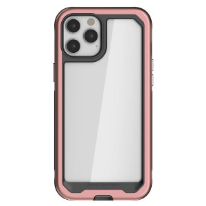 Equip your new iPhone 12 Pro Max with the most extreme and durable protection around! The Pink Ghostek Atomic Slim 3 provides rugged drop and scratch protection whilst keeping the phone slim and stylish.