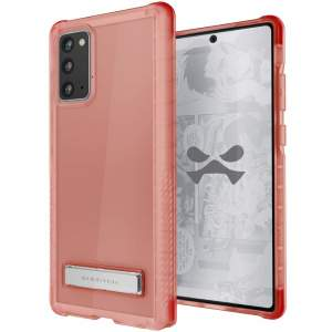 Custom moulded for the Samsung Galaxy Note 20, the Ghostek tough case in Pink provides a slim fitting, stylish design and reinforced corner protection against shock damage, keeping your Samsung Galaxy Note 20 looking great at all times.