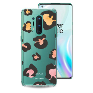 Take your OnePlus 8 Pro to the next level with this leopard print phone case in multi from LoveCases. Cute but protective, the ultra-thin case provides slim fitting and durable protection against life's little accidents.