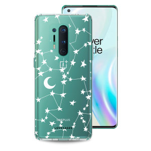 Take your OnePlus 8 Pro to the next level with this starry design print phone case in white from LoveCases. Cute but protective, the ultra-thin case provides slim fitting and durable protection against life's little accidents.