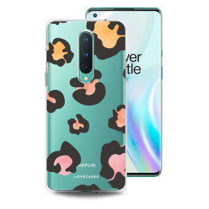 LoveCases OnePlus 8 Gel Case - Leopard Print