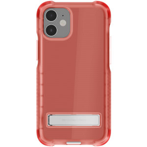 Custom moulded for the iPhone 12 mini, the Ghostek tough case in Pink provides a slim fitting, stylish design and reinforced corner protection against shock damage, keeping your iPhone 12 mini looking great at all times.