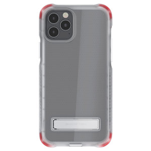 Custom moulded for the iPhone 12 Pro, the Ghostek tough case in clear provides a slim fitting, stylish design and reinforced corner protection against shock damage, keeping your iPhone 12 Pro looking great at all times.