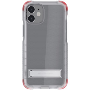 Custom moulded for the iPhone 12, the Ghostek tough case in clear provides a slim fitting, stylish design and reinforced corner protection against shock damage, keeping your iPhone 12 looking great at all times.