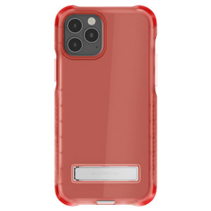 Custom moulded for the iPhone 12 Pro, the Ghostek tough case in pink provides a slim fitting, stylish design and reinforced corner protection against shock damage, keeping your iPhone 12 Pro looking great at all times.