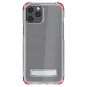 Custom moulded for the iPhone 12 Pro Max, the Ghostek tough case in clear provides a slim fitting, stylish design and reinforced corner protection against shock damage, keeping your iPhone 12 Pro Max looking great at all times.