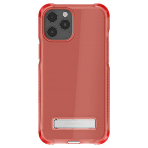 Custom moulded for the iPhone 12 Pro Max, the Ghostek tough case in pink provides a slim fitting, stylish design and reinforced corner protection against shock damage, keeping your iPhone 12 Pro Max looking great at all times.