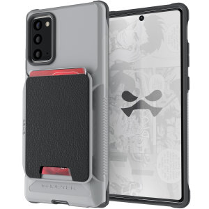 The Exec 4 premium wallet case in Grey provides your Samsung Galaxy Note 20 with fantastic protection. Also featuring storage slots for your credit cards, ID and cash.