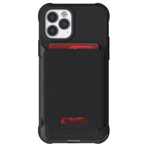 Ghostek Exec 4 iPhone 12 Pro Wallet Case - Black