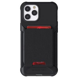 The Exec 4 premium wallet case in Black provides your iPhone 12 Pro Max with fantastic protection. Also featuring storage slots for your credit cards, ID and cash.
