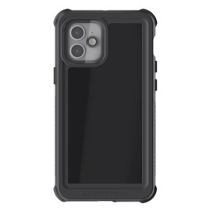 Shield your iPhone 12 on both land and at sea with the extremely tough, yet incredibly stylish Nautical 3 Waterproof case from Ghostek in black. Protecting your iPhone 12 from depths of up to 1 meter for up to 30 minutes.