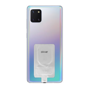 Add wireless charging to your Samsung Galaxy Note 10 Lite device without replacing your back cover or case with this Olixar Ultra Thin Qi Wireless Charging Adapter.