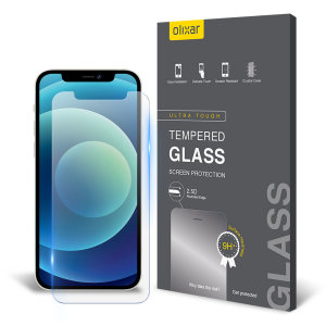 This ultra-thin tempered glass screen protector for the iPhone 12 from Olixar offers toughness, high visibility and sensitivity all in one package.