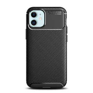 Olixar Carbon Fibre case is a perfect choice for those who need both the looks and protection! A flexible TPU material is paired with an eye-catching carbon print to make sure your Apple iPhone 12 mini is well-protected and looks good in any situation.