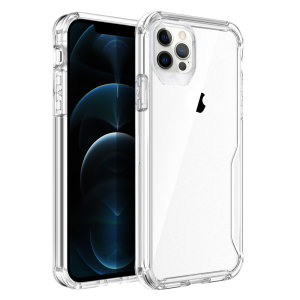 Olixar NovaShield iPhone 12 Pro Max Bumper Case - Clear
