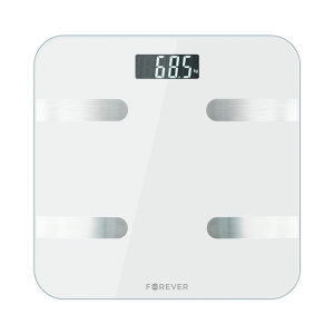 Created with the latest technology this smart scale shows precise weight measuring as well as calculating other important parameters of your body allowing you to live a healthy lifestyle, keep up with your training and fight against improper weight.