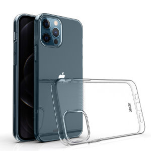 Custom moulded for the iPhone 12 Pro, this 100% clear Ultra-Thin case by Olixar provides slim fitting and durable protection against damage