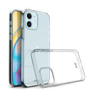 Custom moulded for the iPhone 12 mini, this 100% clear Ultra-Thin case by Olixar provides slim fitting and durable protection against damage