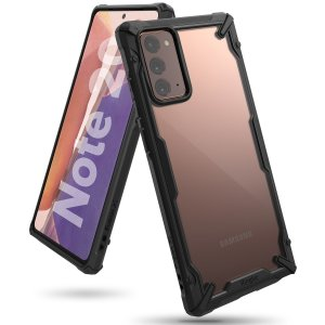 Keep your Samsung Galaxy Note 20 protected from bumps and drops with the Rearth Ringke Fusion X tough case in Black. Featuring a 2-part, Polycarbonate design, this case lives up to military drop-test standards.