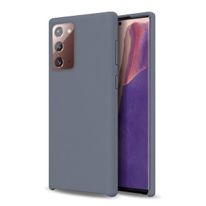Custom moulded for the Samsung Galaxy Note 20, this grey soft silicone case from Olixar provides excellent protection against damage as well as a slimline fit for added convenience.