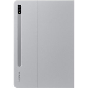 Official Samsung Galaxy Tab S7 Book Cover Case - Light Grey