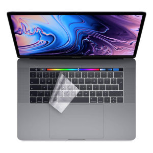 Olixar Ultra-Thin Macbook Pro 13/15' w Touch Bar Keyboard Cover- Clear