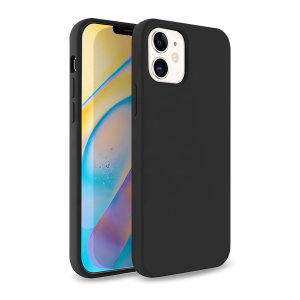 Olixar Soft Silicone iPhone 12 mini Case - Black